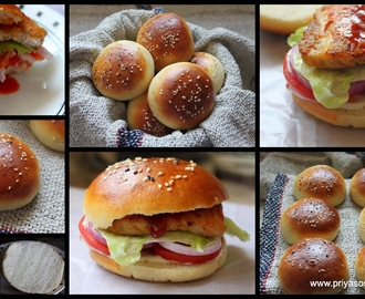 Home made Burger Bun