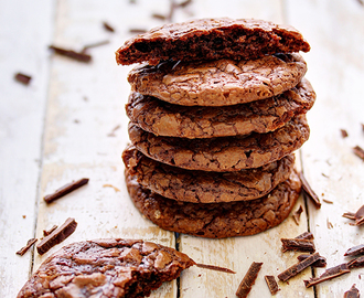 Ultimativno čokoladni keksići / Fudgy Chocolate Cookies