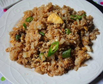 Street Food Egg Fried Rice Recipe / Egg Fried Rice Recipe
