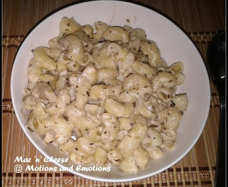 Mac 'n' Cheese on Stove top / Macaroni in White Sauce / Macroni and Cheese