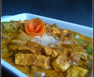 Paneer Gravy / Cottage Cheese Gravy / Side dish for Indian Breads.