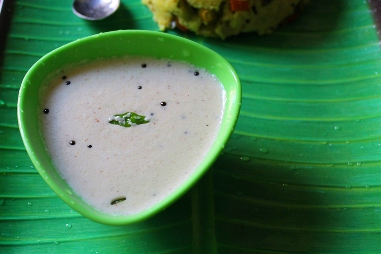 Coconut Chutney Recipe / Hotel Coconut Chutney Recipe