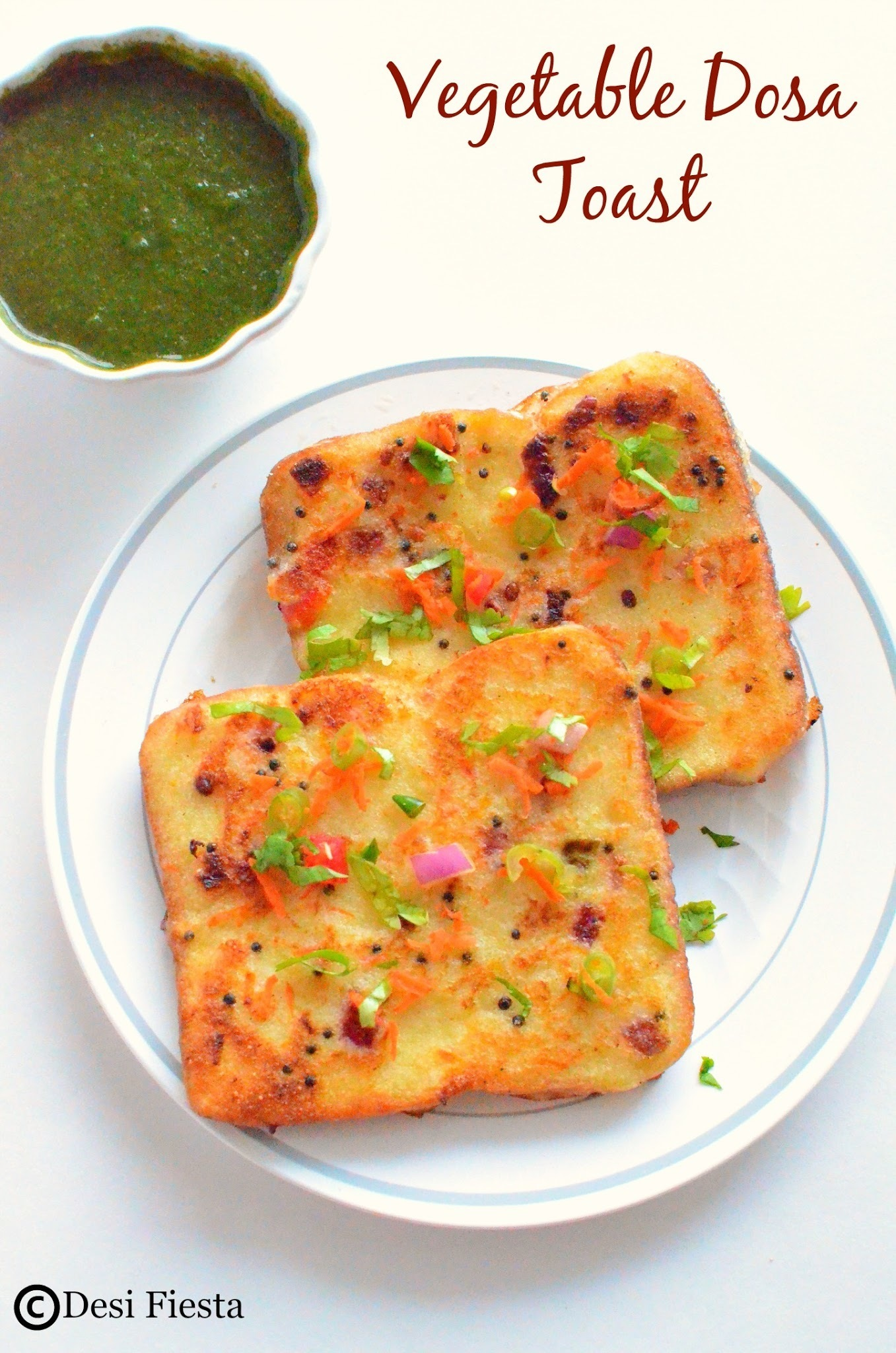 Vegetable Dosa Toast Recipe |Dosa French Toast ~Breakfast Recipe