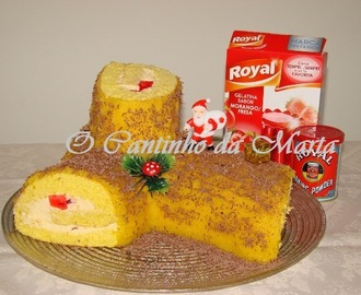 Tronco de Natal com Surpresa Royal