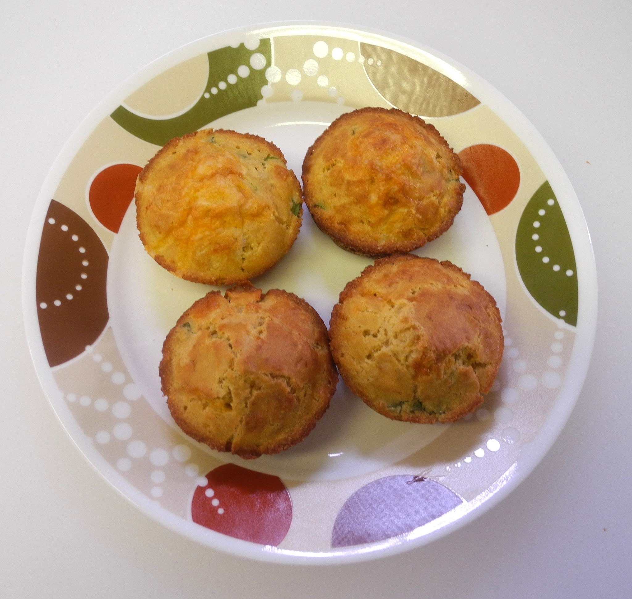 Mexican Cheese Muffins  for Muffin Mondays