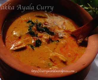 Thrissur Style Unakka Meen Curry(Ayala) /Dry Fish Curry