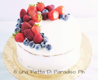 Naked Red Fruit Cake - Torta Nuda Ai Frutti Di Bosco