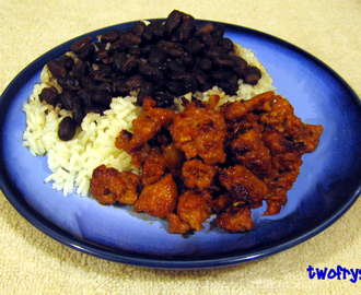 Mexican Chorizo with Rice 'N Black Beans