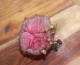 Oksestek spesial: Black Angus cube roll roast (Scotch fillet)