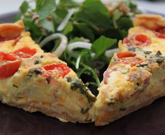 QUICHE FACILONA A LA ITALIANA
