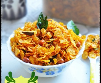 CORNFLAKES CHIVDA / CORNFLAKES MIXTURE RECIPE