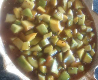 Sweet Sour Mango Pickle