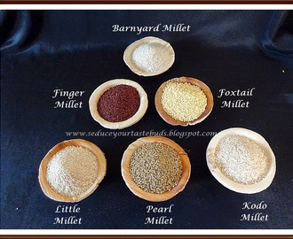 Barnyard Millet | Kuthiraivali Sadham and All About Millets