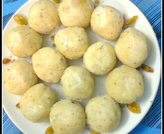Coconut – Almond Sweet/Coconut – Almond Laddu