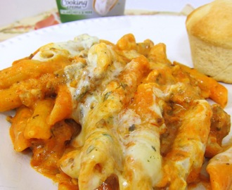 Baked Penne and a $50 Grocery Card Giveaway