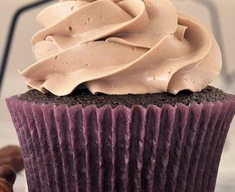 Cupcake de Nutella e Buttermilk