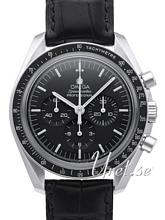 Omega 311.33.42.30.01.002 Speedmaster Moonwatch Professional 42mm Svart/Lädder