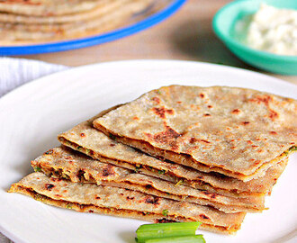 Onion Paratha Hebbar S Kitchen