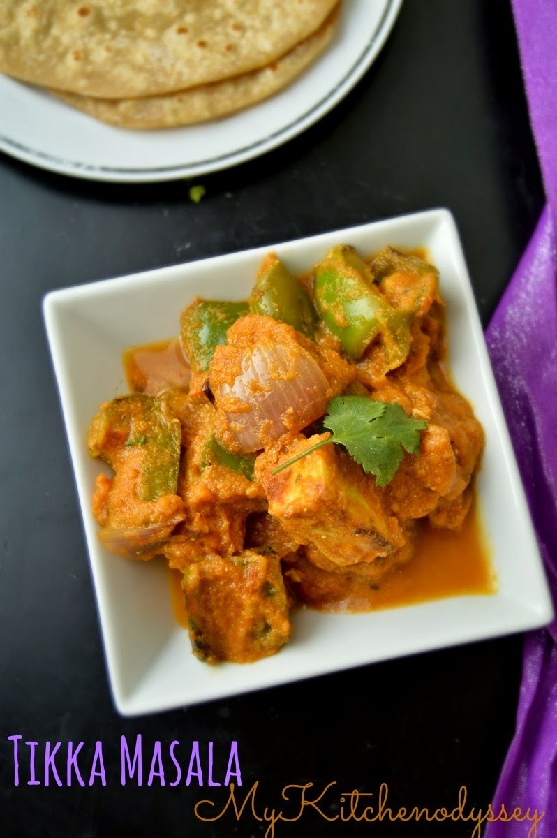 Paneer Tikka Masala Recipe | Side Dish For Chapathi