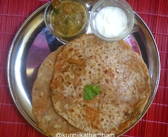 Carrot Paratha | Kids Lunch Box Series