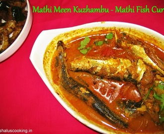 Mathi Meen Kuzhambu - Mathi Fish Curry