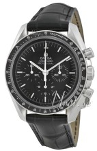 Omega 311.33.42.30.01.001 Speedmaster Moonwatch Professional 42mm Svart/Lädder