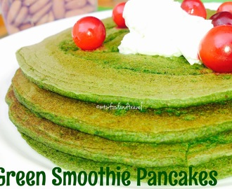 GREEN SMOOTHIE PANCAKES - GO GREEN