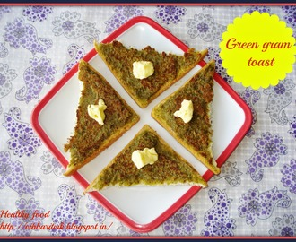 GREEN GRAM TOAST / MOONG TOAST / SNACKS
