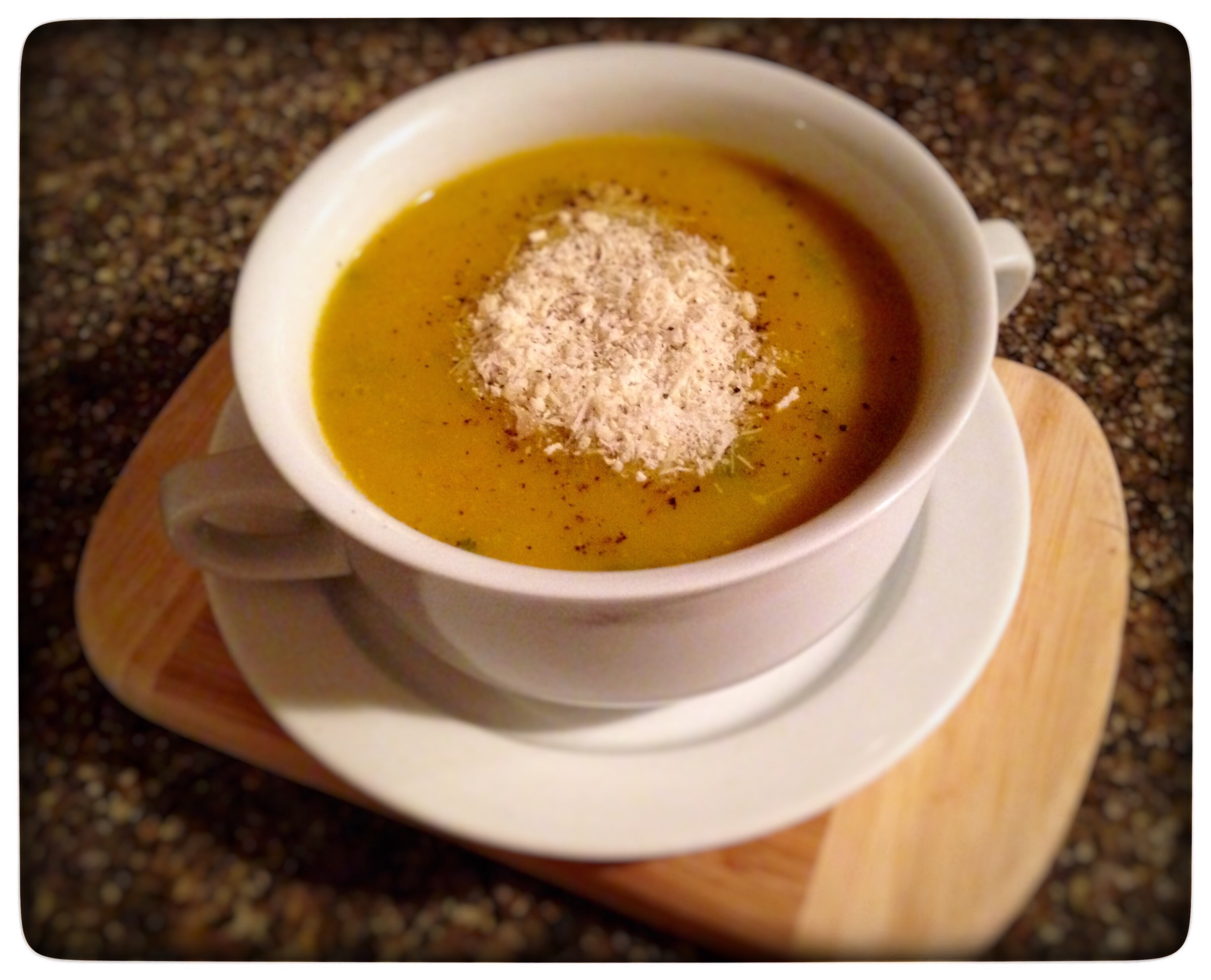 Wholesome Pumpkin Soup (Crema de Auyama)