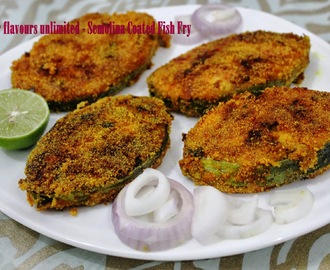 Bunt Style Rava/Semolina Coated Bangda/Mackerel and Surmai/King Fish Fry