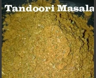Homemade Tandoori Masala | How to make Tandoori Masala Powder