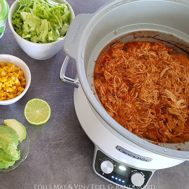 Tex-Mex pulled chicken ♫♪