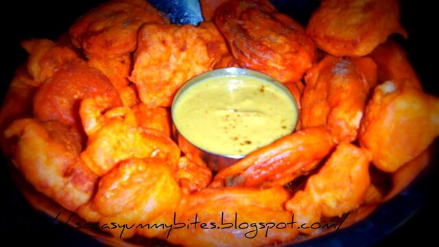 Vegetable fritters / Vegetable Bajji