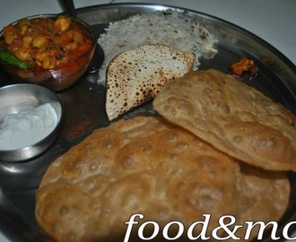 Recipe: Chole-Bhature