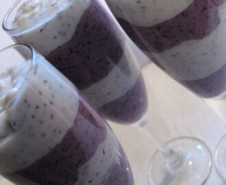 Vanilla - Blueberry Chia Parfait
