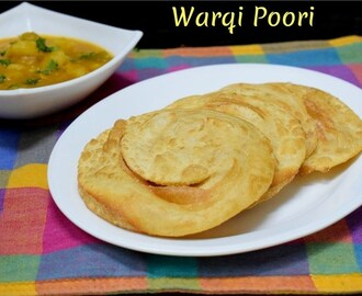 Warki Poori | How to make Layered Poori
