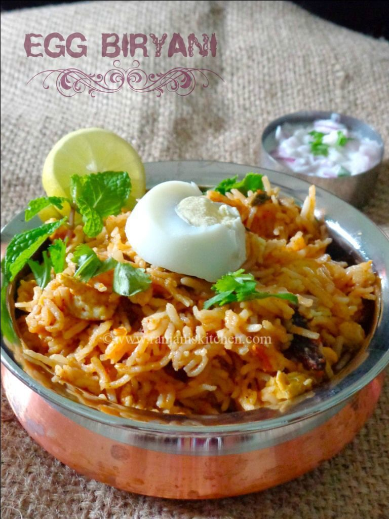 Egg Biryani | Biryani Recipe