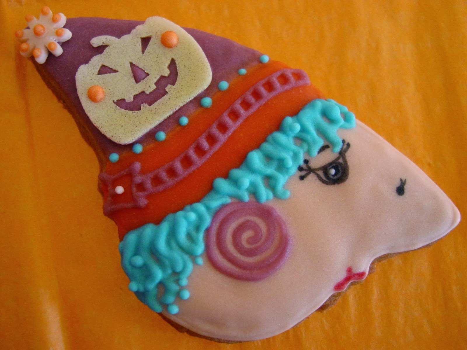 Galletas decoradas Halloween boo