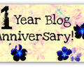 First Blogoversary Giveaway by Bling Sparkle