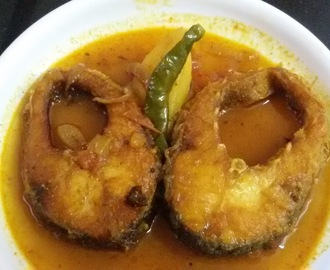 Rohu Fish Thin Gravy(Rui macher patla jhol)