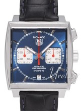 TAG Heuer CAW2111.FC6183 Monaco Calibre 12 Automatic Chronograph Steve McQeen Bl