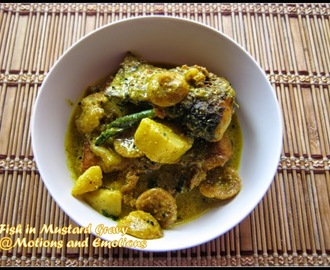 Macher Jhal/Fish in Mustard Gravy