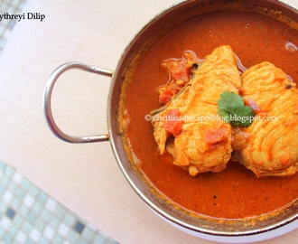 Chettinad Fish Curry / Vanjaram Meen Kuzhambu