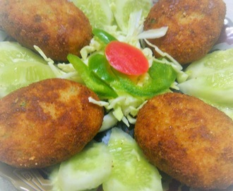 recipe of chicken and potatoes cutlets/ chicken potatoes kabbabs