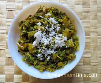 Baby Methi and Aloo Sabzi (Potato and Baby Fenugreek Leaves Sabzi)