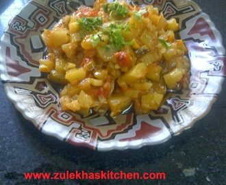 recipe of lauki ki sabzi (bottle gourd/dudhi)