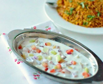 Tomato Onion Cucumber Raita Recipe | Raita Recipes