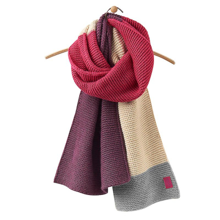 Joules Joule Annis Oversized stickad halsduk Ruby One Size