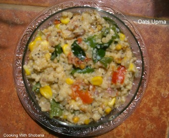 VEGETABLE UPMA WITH OATS
