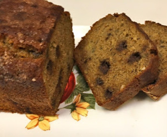Bolo Integral de Banana - Whole Grain Banana Bread